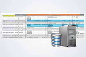 Delivery of Data and Indexes