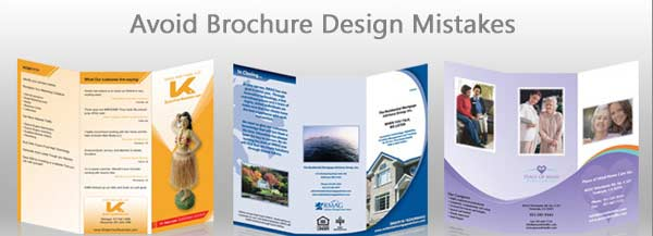 Brochure Design Mistakes to Avoid