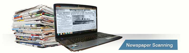 Newspaper Archive Using OCR Scanning Services
