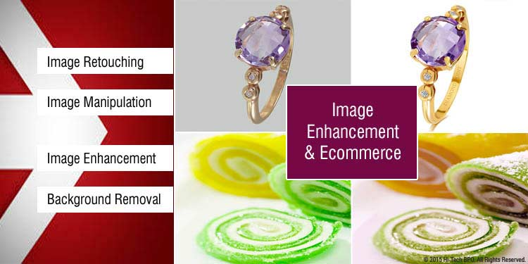 Image enhancements & ecommerce