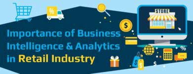 Importance of Business Intelligence and Analytics in Retail Industry [Infographic]