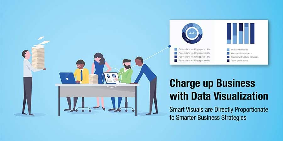 Charge up business with data visualization